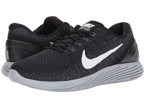 Nike LUNARGLIDE 9 Mens Black Athletic