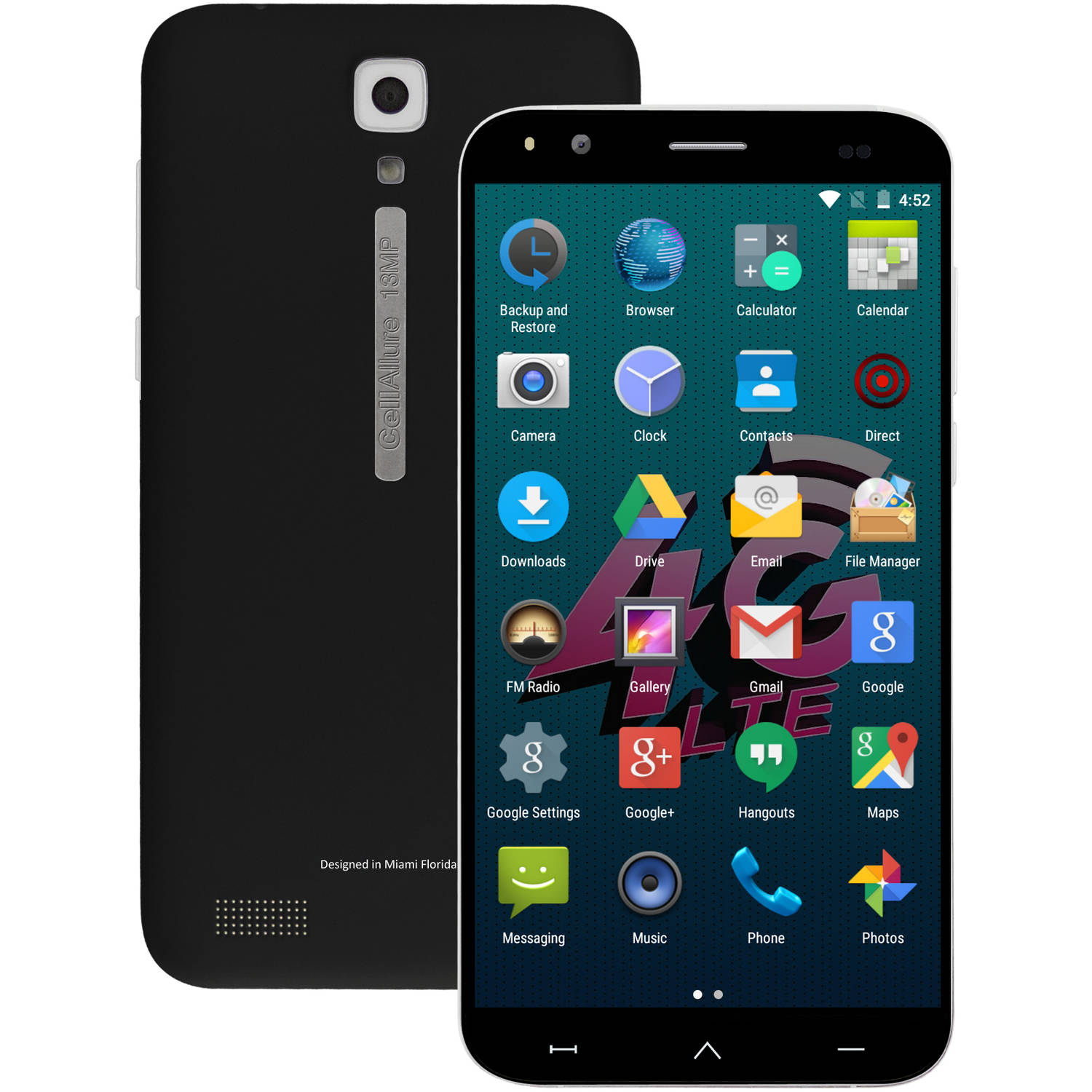 CellAllure CAPHG41-01 Bolt 5.5 S Android Smartphone (Unlocked)