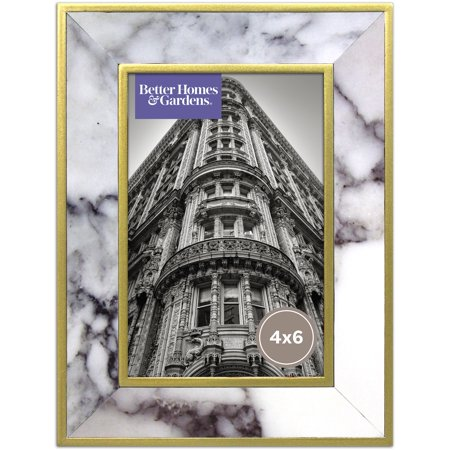 Better Homes and Gardens Marble & Gold Finish Frame 4x6](4x6 Gold Frames)