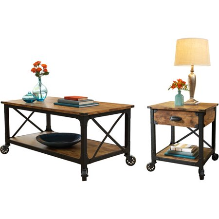 Better Homes and Gardens Rustic Country 2 Piece Living Room Set ()