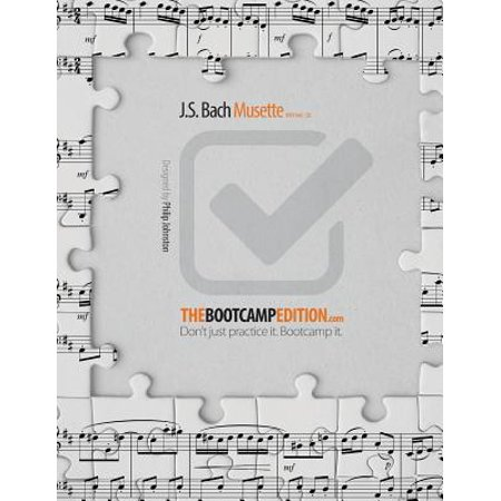 The Bootcamp Edition : J.S. Bach Musette Bwv Anh. (Bach Menuet Bwv Anh 115 In G Minor)