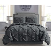 Empire Home Pintuck Hypoallergenic 8-Piece Bed in A Bag Comforter Set - Sheet Set Included!!