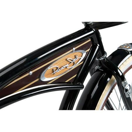 26 Huffy Panama Jack Men S Cruiser Bike Gloss Black