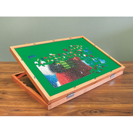 Wooden Puzzle Easel Table for Adults & Kids | 22