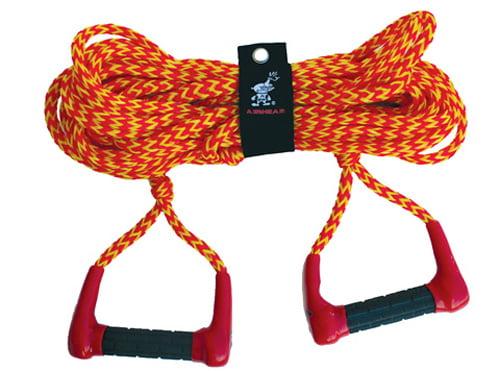 AHSR-6 Airhead Double Handle Ski Rope by Kwik Tek