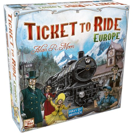 Ticket to Ride Europe (Halloween Games Ghost Train Ride)