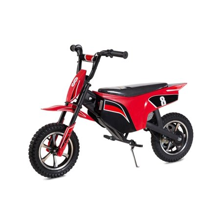 "T4B CLIO Kids Starter Mini Dirt Bike, 250W Brushless Electric Motor, Off-Road Scooter, 24V7.5Ah Motocross Small 12.5"" Wheel for Kids 5-yo and above - Red - image 7 de 7"