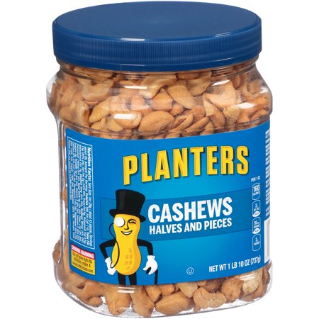 Planters Cashew Halves & Pieces, 26.0 oz Jar