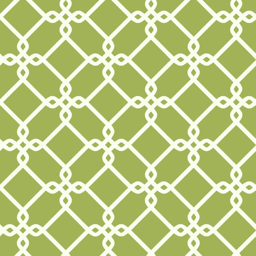 Ashford Geometrics Threaded Links Wallpaper