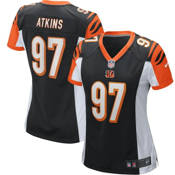Geno Atkins Cincinnati Bengals Nike Women's Game Jersey - Black