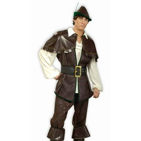 Mens Costume Renaissance Hero Robin Hood Outfit size Adult XL](Renaissance Festival Outfits)