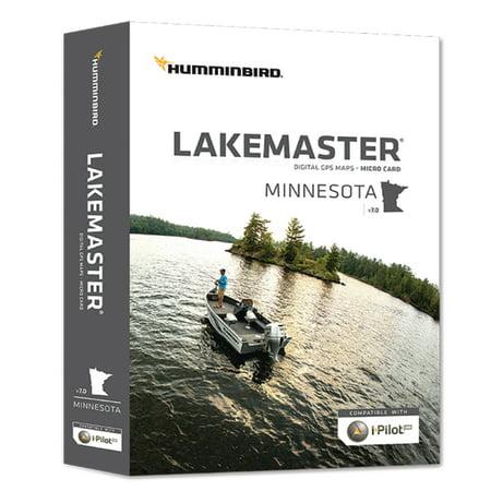 Chartplotter Charts - Humminbird 600021-5 Lakemaster Version 7.0 GPS Fishing Map for Chartplotter for Minnesota