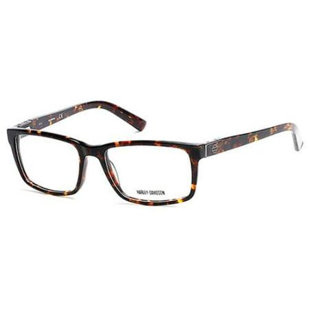 HARLEY DAVIDSON Eyeglasses HD0739 052 Dark Havana 54MM - Walmart.com