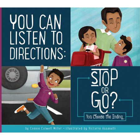 Making Good Choices: You Can Listen to Directions: Stop or Go?: You Choose the Ending (Hardcover) Good Directions Dolphin