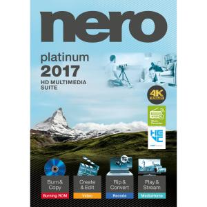 Nero 2017 Platinum - CD/DVD Burning - PC