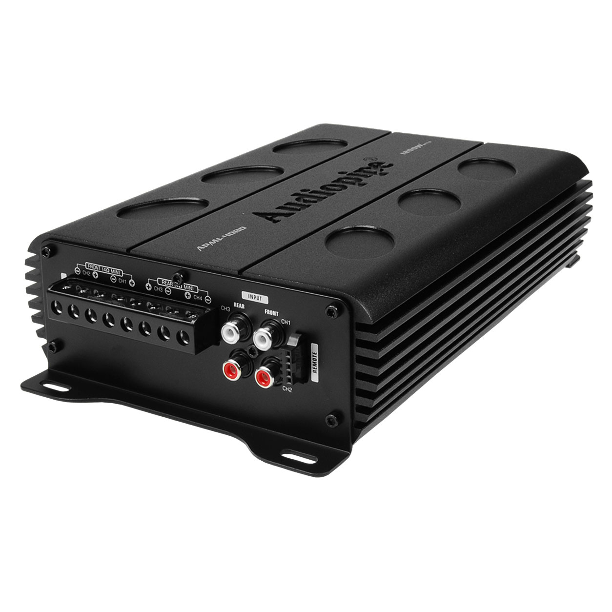 Audiopipe AMPI-4080 1200 Watts 4 Channel Mono Amplifier