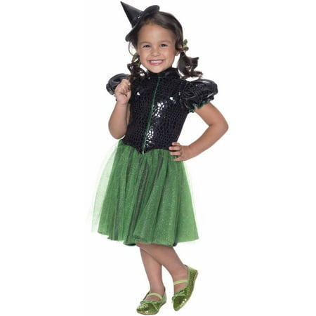 Wicked Witch Sequin Child Halloween Costume