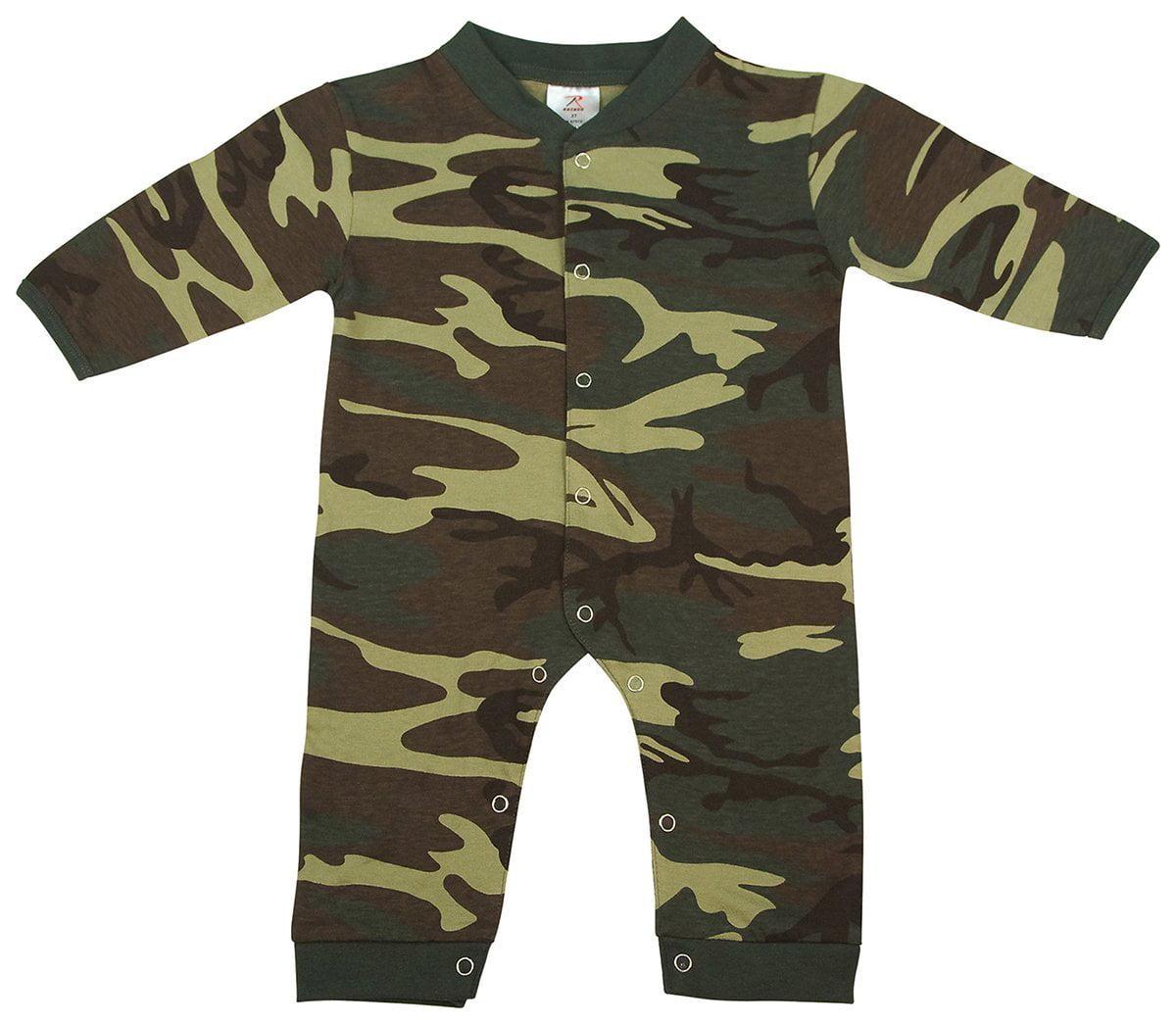 ACU Digital Camouflage Baby Newborn Infant One Piece Suit