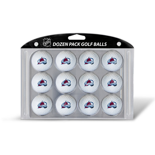 Team Golf NHL Colorado Avalanche Golf Balls, 12 Pack