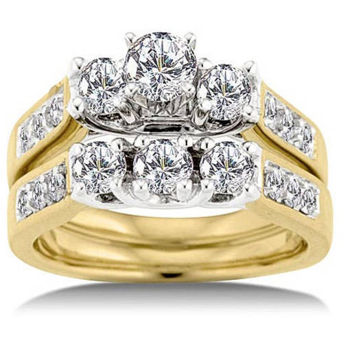 Keepsake Royal 1-1 2 Carat Diamond Bridal Set by