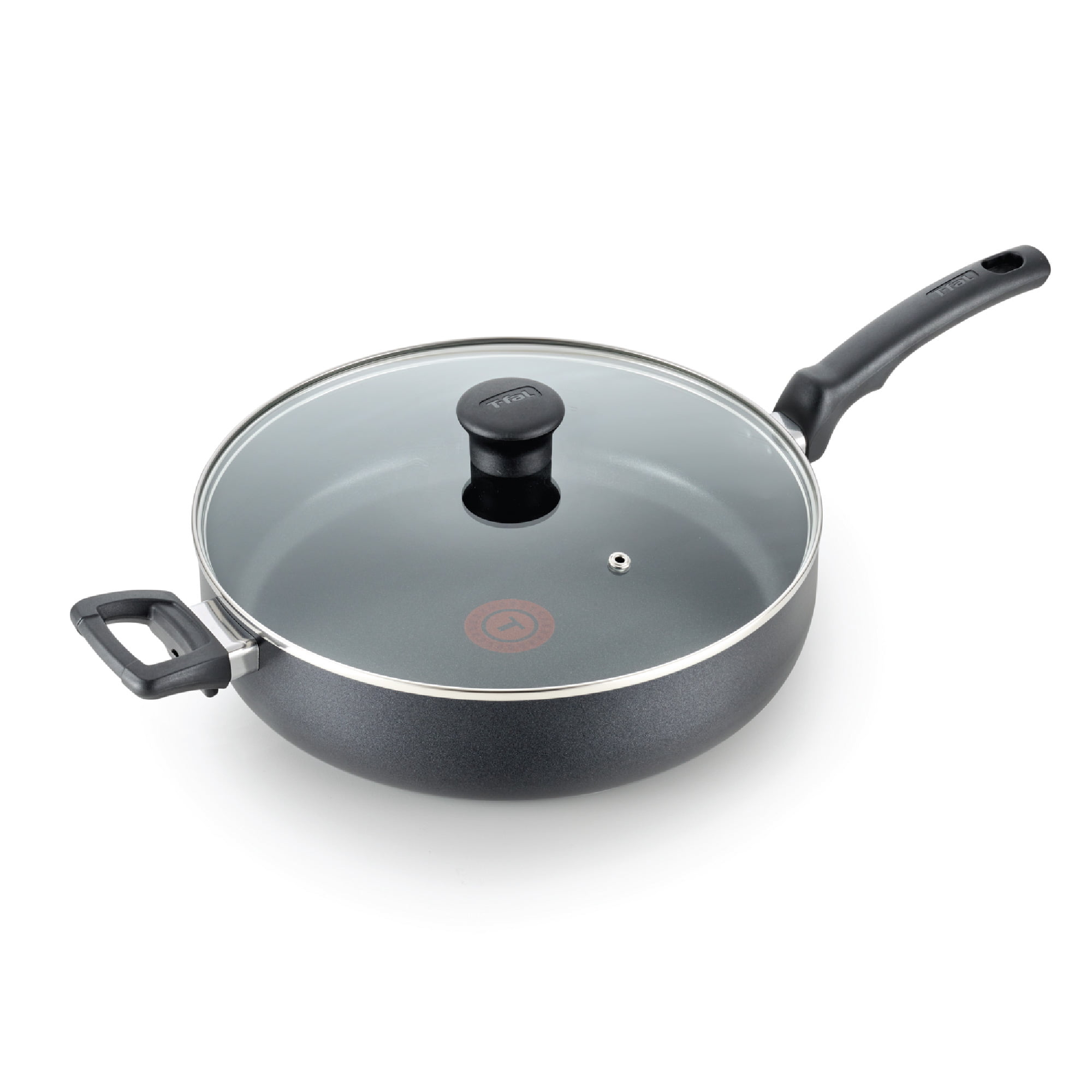 T-fal Kitchen Solutions Nonstick 5Qt. Jumbo Cooker, Black