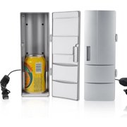 Mini USB Fridge Freezer Cans Drink Beer Cooler Warmer Travel Car Office Use