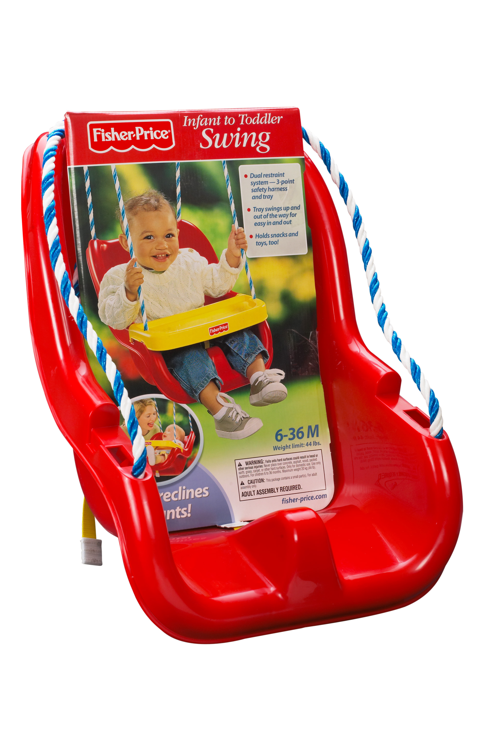 Flexible Flyer Outside Fun II Metal Swing Set Walmart