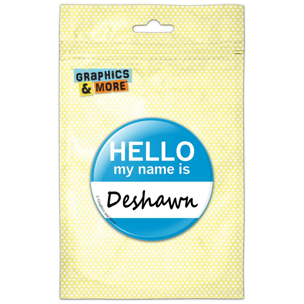 Graphics and More - Deshawn Hello My Name Is Pinback ...