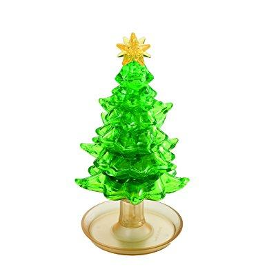BePuzzled 3D Crystal Puzzle - Christmas Tree: 69 Pcs