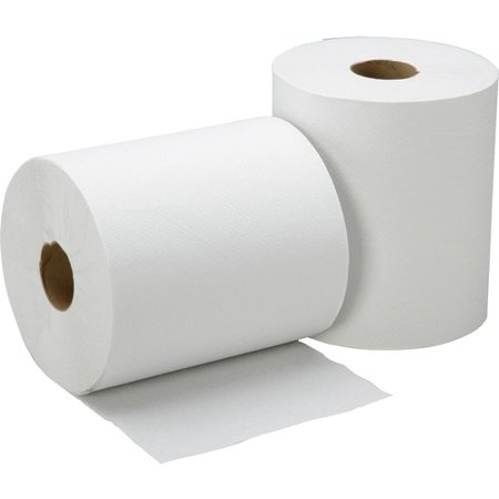 SKILCRAFT 1-ply Hard Roll Paper Towel - 1 Ply - 8