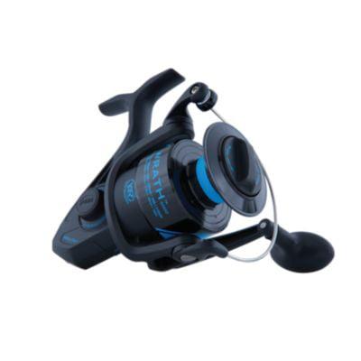 PENN Wrath Spinning Fishing Reel, Black/Blue ()