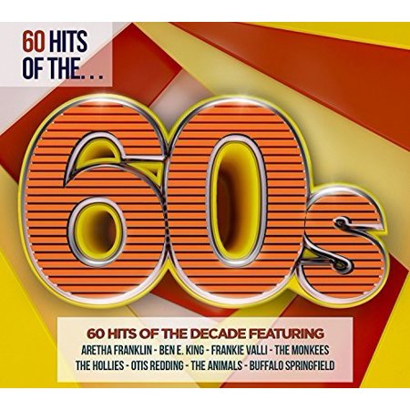 60 Hits Of The 60S / Various (CD) - Cher In The 60s