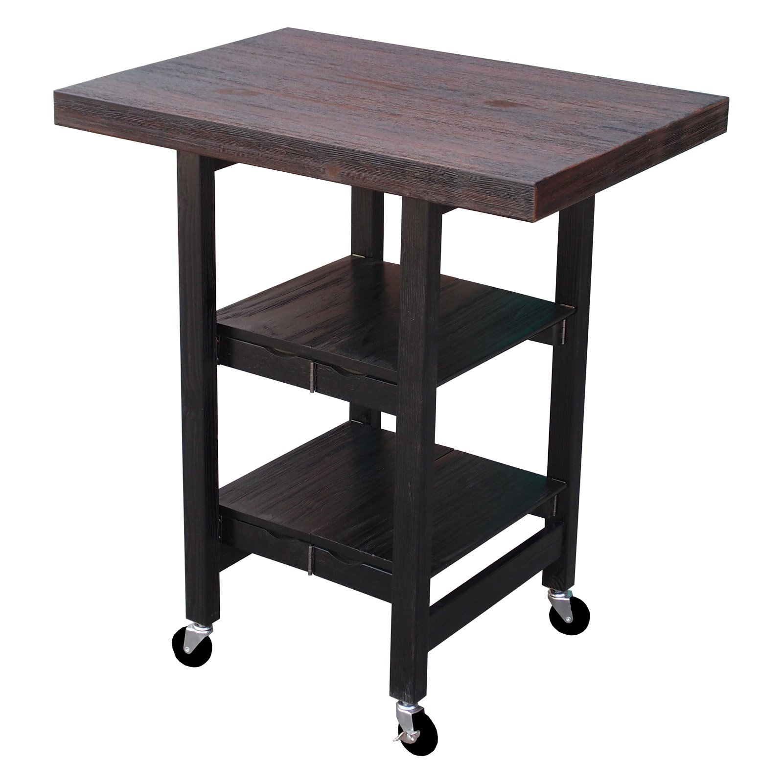 Oasis Concepts Textured Folding Kitchen Cart