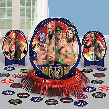 WWE Wrestling Table Decorating Kit (23pc) for $<!---->