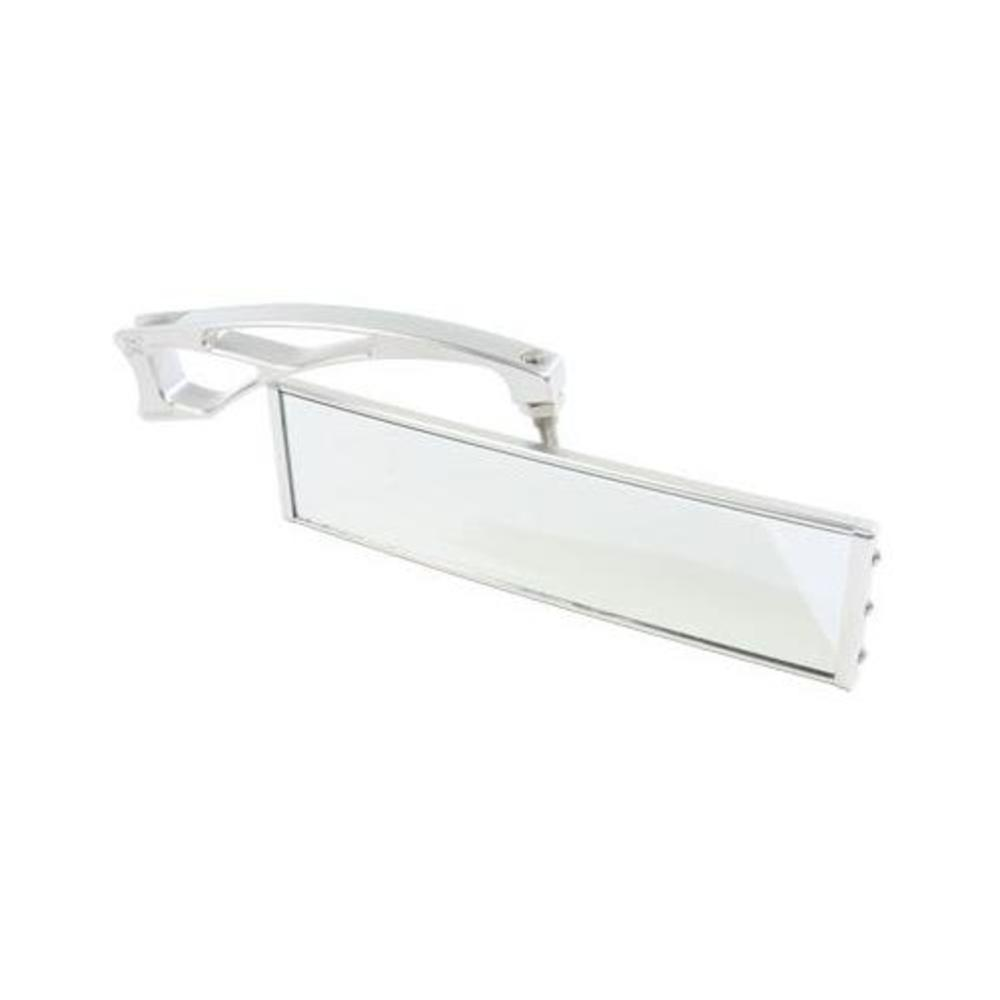 Axia Alloys MOD9PRVMEC-C Panoramic Rear View Mirror with 6in. Arms 9in. Silver by Axia Alloys