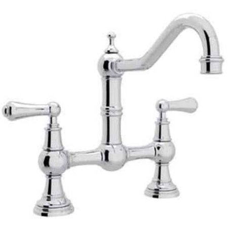 Rohl U4751 Perrin And Rowe Bridge Kitchen Faucet Available In Various Colors