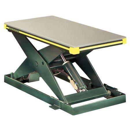 SOUTHWORTH LS2-36-2448-FS-115V Scissor Lift Table,2000 lb.,115V,1 Phase by Southworth