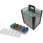Trademark Poker 1000 Chip Capacity Clear Carrier