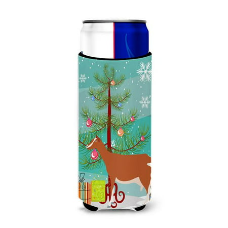 Toggenburger Goat Christmas Michelob Ultra Hugger for Slim Cans - image 1 of 1