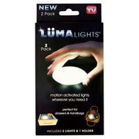Lüma Lights Motion Activated Lights, 2 pack