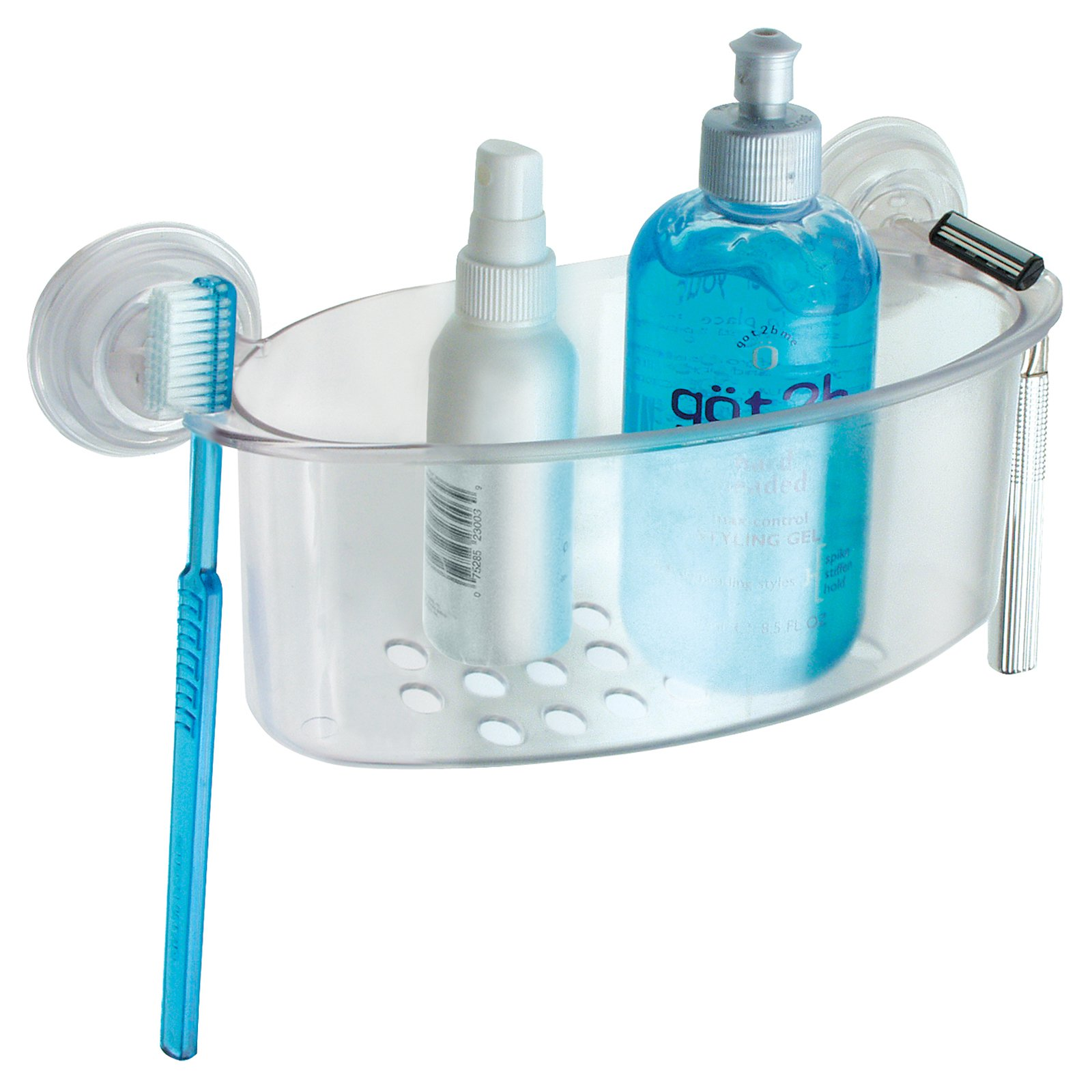 Interdesign Shower Basket - Clear