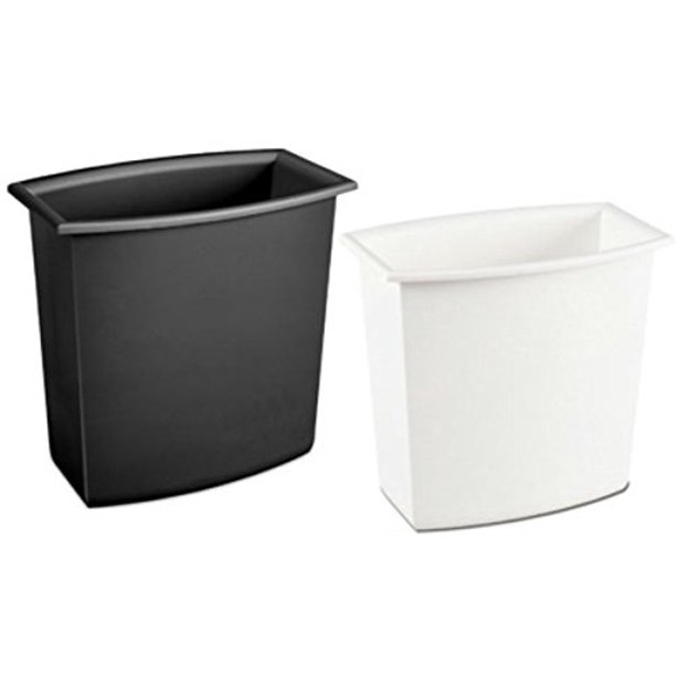 Sterilite Corp 10220012 Rectangular Vanity Wastebasket 2 Gallons Assorted Colors Walmart Com Walmart Com