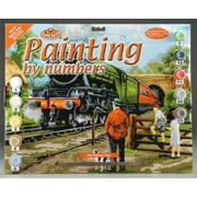 Royal Paint By Number Adult Lg Steam Train