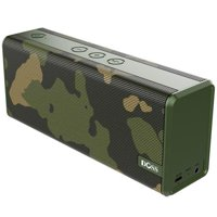 DOSS SoundBox Green Portable Wireless Bluetooth Speakers with 12W Stereo Sound and Enhanced Bass, 12H Playtime and Handsfree (Green)