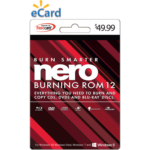 Nero Burning ROM 12 $49.99 eGift Card (Email Delivery)