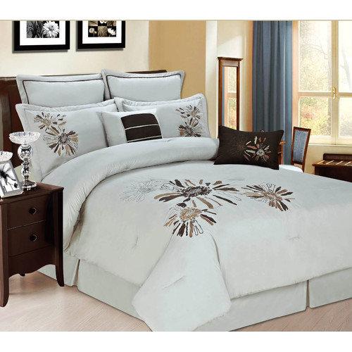 Luxury Home Park Ave 8 Piece Comforter Set