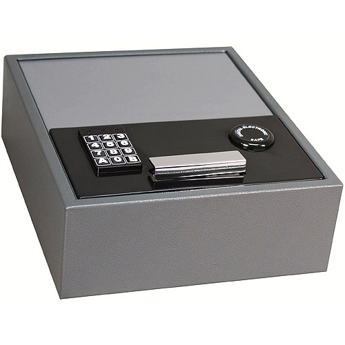 First Alert 0.35 cu. ft. Steel Anti-Theft Drawer Safe with Electronic Lock, 2074F