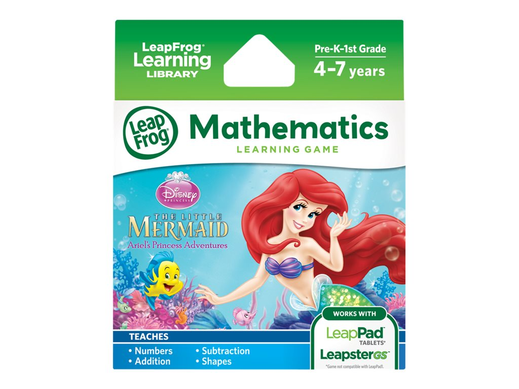 LeapFrog Disney The Little Mermaid Learning Game for LeapPad Tablets and LeapsterGS by LeapFrog Enterprises