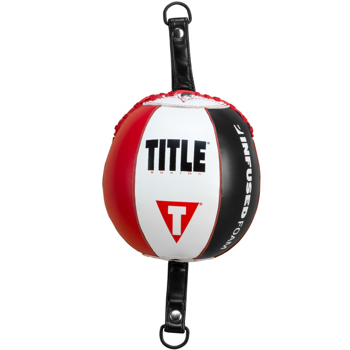 Title Boxing Vintage Leather Double End Bag