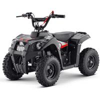 Kids Gas Power 40CC 4-Stroke Mini Ride On ATV Monster, Red